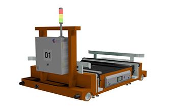 RGV+穿梭式子母车自动化密集存取系统